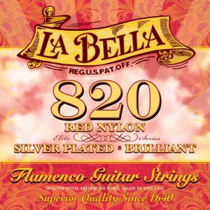 Juego de Cuerdas LA BELLA 820