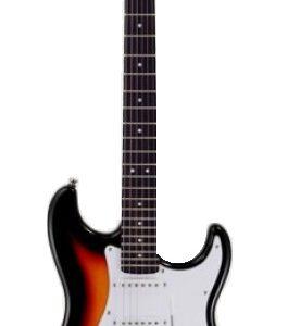GUITARRA ARIA STRATOCASTER SERIE STG-003 SOMBRAEDO